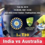 India Vs Australia 1st T20 Prediction
