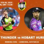 Sydney Thunder Vs Hobart Hurricanes Prediction