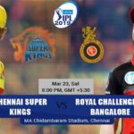 Chennai Super Kings Vs Royal Challengers Bangalore Prediction