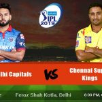 Delhi Capitals Vs Chennai Super Kings Prediction