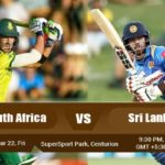 South Africa Vs Sri Lanka 2nd T20 Match Prediction