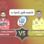 Royal Challengers Bangalore vs Chennai Super Kings Prediction
