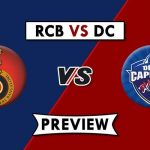Royal Challengers Bangalore vs Delhi Capitals Prediction