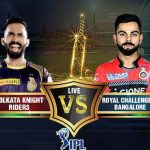 Royal Challengers Bangalore Vs Kolkata Knight Riders Prediction