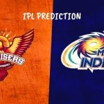 Mumbai Indians Vs Sunrisers Hyderabad Prediction