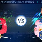 Royal Challengers Bangalore vs Rajasthan Royals Prediction