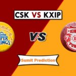 Kings XI Punjab Vs Chennai Super Kings Prediction