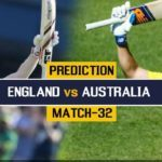 England Vs Australia Match Prediction