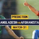 Bangladesh Vs Afghanistan Prediction