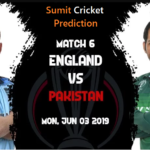 England Vs Pakistan Match Prediction