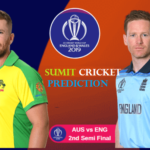 England Vs Australia 2nd Semi Final Prediction