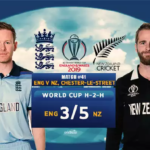 England Vs New Zealand Match Prediction