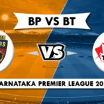 Bellary Tuskers vs Belagavi Panthers Qualifier 1 Prediction