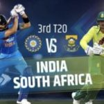 INDIA VS SOUTH AFRICA 3RD T20 MATCH PREDICTION