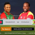 Bangladesh Vs Zimbabwe 1st T20  Match  Prediction