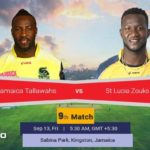 Jamaica Tallawahs Vs St Lucia Zouks Prediction