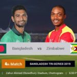 Bangladesh Vs Zimbabwe 4th T20 Prediction