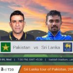 Pakistan Vs Sri Lanka 3rd T20 Prediction