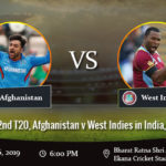 Afghanistan vs West Indies 2nd T20 Prediction
