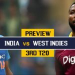 India vs West Indies 3rd T20 Prediction