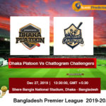 Dhaka Platoon Vs Chattogram Challengers T20 Prediction