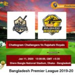 Chattogram Challengers Vs Rajshahi Royals T20 Prediction