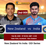 New Zealand vs India 2nd ODI Prediction