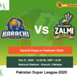 Karachi Kings vs Peshawar Zalmi 2nd Match Prediction