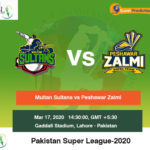 Multan Sultans vs Peshawar Zalmi 1st Semi Final Match Prediction