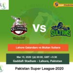 Lahore Qalandars vs Multan Sultans 29th Match Prediction