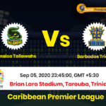 Jamaica Tallawahs Vs Barbados Tridents Match Prediction