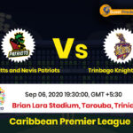 St Kitts and Nevis vs Trinbago Knight Riders Match Prediction