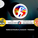 Peshawar Zalmi vs Islamabad United PSL T20 Match Prediction